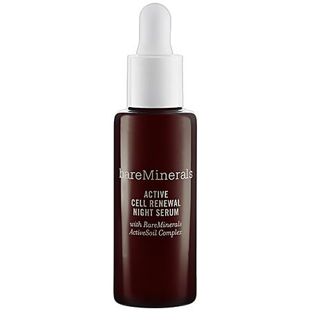 bareMinerals Active Cell Renewal Night Serum, 1 Ounce