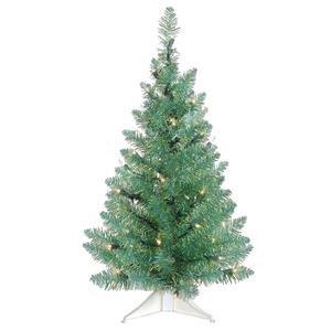 Vickerman 26989 - 2' x 13 Turquoise Green Pine Christmas Tree (B126324)
