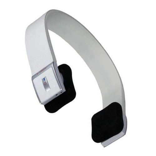 JUSTOP White Bluetooth Wireless Stereo Headphones / Headset With Built-in MIC, Bluetooth V2.1+EDR Supports A2DP, Noise Cancellation, Over-head style for Samsung HTC Nokia LG and Apple iPhone 4/4s/5, iPad 1/2/3, Skype, MSN.