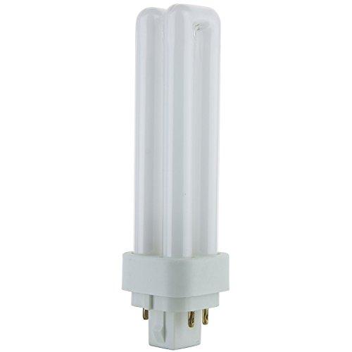 (Pack of 10) PLD-13W 827, 13-Watt Double Tube Compact Fluorescent Light Bulb ...