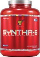 Protein Supplements 5.04 lb (2288 g) BSN Syntha-6 Strawberry Milk Shake