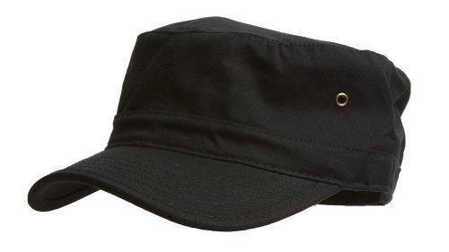 Military Cadet Hat - Black