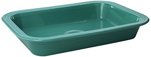 Fiesta 9-Inch X 13-Inch Rectangle Baker, Turquoise
