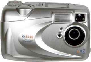 SiPix SC-2300 Deluxe 2.1MP  Digital Camera