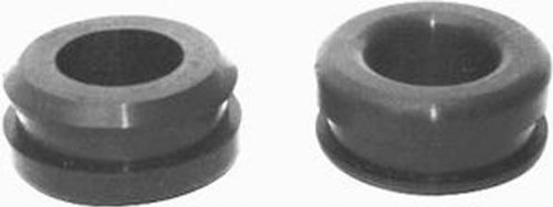 Racing Power Company R4996 1-1/4 O.D. x 1 I.D. Aluminum Valve Cover with Breather Grommet, (Pack of 2)