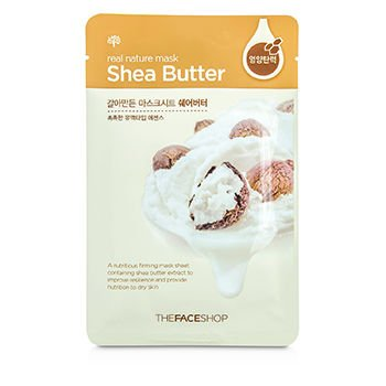 The Face Shop Real Nature Mask - Shea Butter (Nutritious Firming) 10x23g/0.8oz