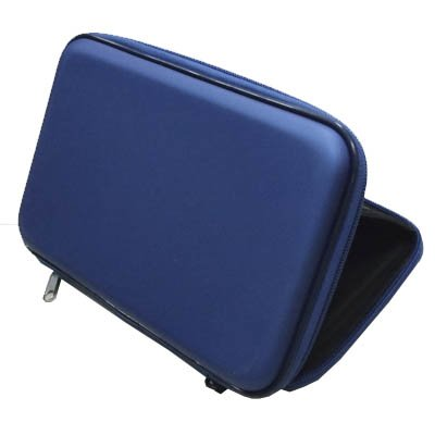 High Quality Blue 7 PU Leather speaker case Cover Bag Sounder For 7 inch Tablet