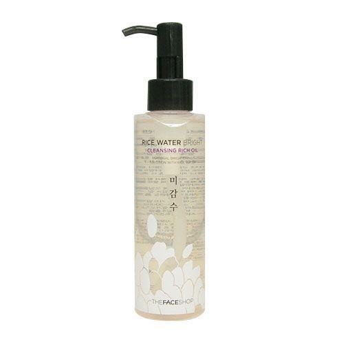 The Face Shop Rice Water Bright Cleansing Rich Oil (Dry Skin) Korean Beauty [Imported]
