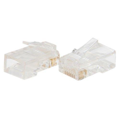 niceEshop(TM) RJ45 8P8C Network Modular Plug Connector / Cat5 RJ45 Crystal Head -50PCS/Bag