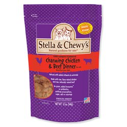 Stella & Chewy's Freeze-Dried Chicken and Beef Dinner for Cats, 12oz