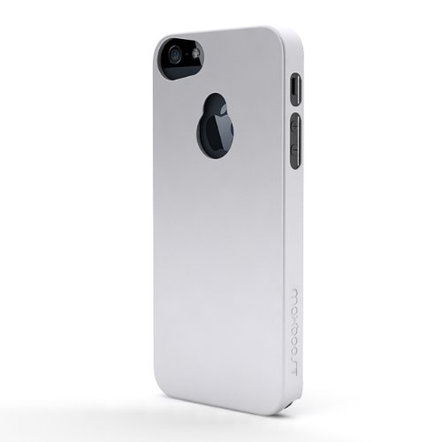 Maxboost iPhone 5S Case / iPhone 5 Case [Fusion Snap-On Case Series - White] Premium Coated Protective Hard Case for iPhone 5S / iPhone 5 (Fits All Versions of iPhone 5S & iPhone 5, AT&T, Verizon, Sprint)