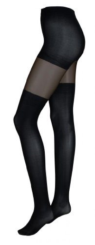 Intimate Portal Women's Fake-it Thigh High Opaque Tights