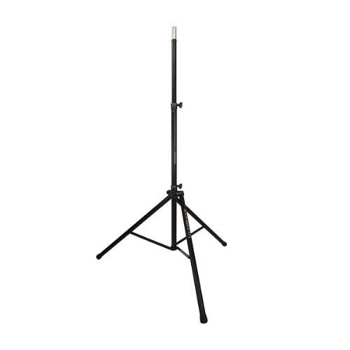 Ultimate Support TS-88B | Aluminum Original Series Tripod Speaker Stand Integrated Speaker Adapter Extra Tall