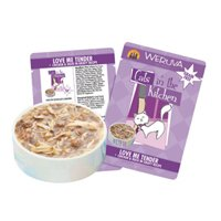 Cats in the Kitchen Cat Food, Love Me Tender, 3-Ounce Pouches (Pack of 8)