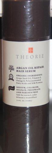 Theorie Argan Oil Repair Hair Serum 3.4 Fl Oz.