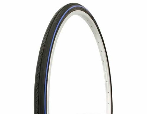 Duro Road Tire 27in x 1-1/4in, Blue Pinstriped
