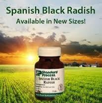 Standard Process - Spanish Black Radish 80 Tabs - # 7510