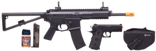 Crosman Ready To Play AirSoft Kit (Rifle, pistol, ammunition)