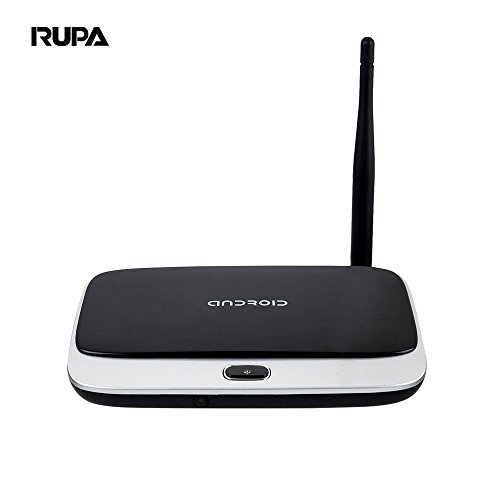 RUPA CS918 2G+16G Android TV Box RK3128 Quad Core Android 4.4 Google Smart 1080P Kodi XBMC Fully Loaded OTT Box with US Plug
