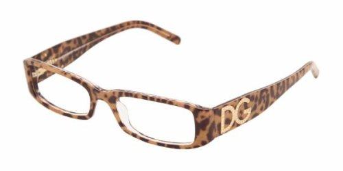 Dolce & Gabbana DG 3044B Eyeglasses Animal Print Transparent 52mm