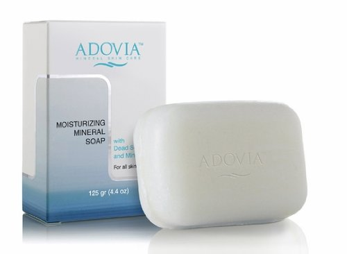 Adovia Moisturizing Mineral Soap (with Dead Sea Salt and Minerals)