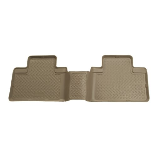 Husky Liners Custom Fit Second Seat Floor Liner for Ford Excursion for Select Ford Excursion Models (Tan)
