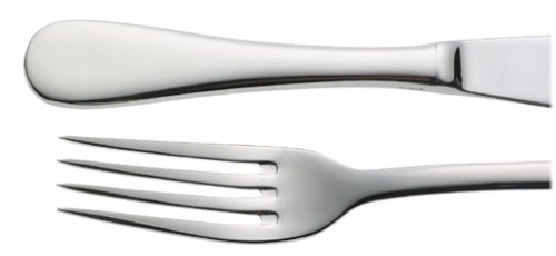 Ovations by Oneida Islet 24-Piece Stainless Steel Flatware Set, Service for 4