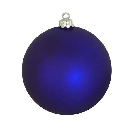 Matte Royal Blue Commercial Shatterproof Christmas Ball Ornament 6 (150mm)