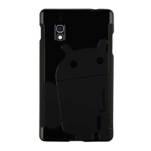 Cruzerlite Androidified A2 TPU Case for LG Optimus G (AT&T) - Retail Packaging - Black - Carrying Case - Retail Packaging - Black