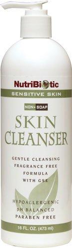 Nutribiotic Nonsoap Skin Cleanser, Sensitive Skin, 16 Fluid Ounce