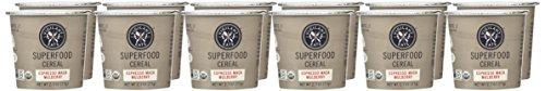 Vigilant Eats Superfood Oats Cereal, Espresso Maca Mulberry, 3 Ounce