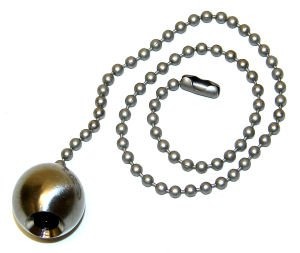 Westinghouse Lighting 77217 Decorative Pull Chain 12 Brushed Nickel