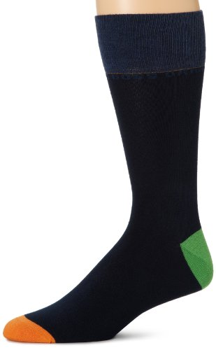 BOSS HUGO BOSS Men's Rs Design Orange on Top Socks