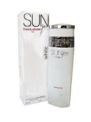 Sun Java White FOR WOMEN by Franck Olivier - 2.5 oz EDP Spray