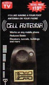 6 Pack Cell Phone and PDA Antenna Booster