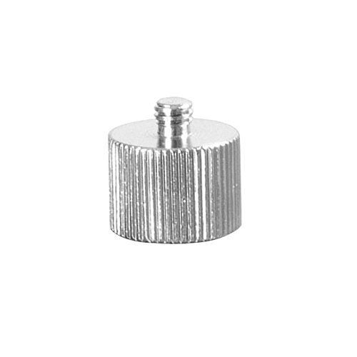 On-Stage MA-125 1/4-Inch Male to 3/8-Inch Female Mic Screw Adapter