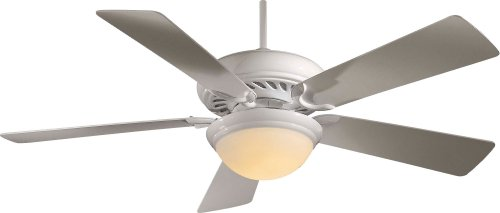 Minka Aire F569-WH One Light White Ceiling Fan