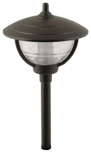 Moonrays 95816 Auburn Style Low Voltage Metal Path Light, 10-Watt Lamp