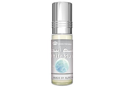 White Musk Halal Alcohol Free 6 ML Best Selling Attar Perfume Oil - Top Quality Fragrance Prime