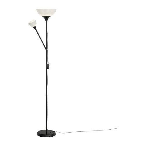 Ikea Floor Uplight/Reading Lamp, 69, Black NOT 701.451.32