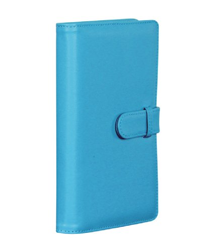 1 X Blue Fuji Instax Soft Cover Photo Album x Instax Mini 8 /7s /50s/ Polaroid Mio & 300 Lomo Diana Instant Cameras