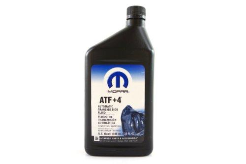 Genuine Mopar Fluid 5013457AA ATF+4 Automatic Transmission Fluid - 1 Quart