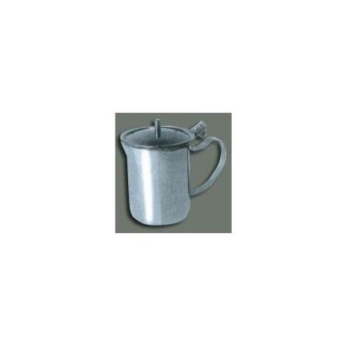 Creamer Server w/Cover, 10oz, S/S