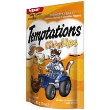 Temptations Cat Care & Treats Mix Ups Farmer'S Feast