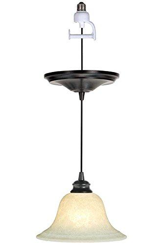 Bronze Pendant Light, CONVERSION KIT, BRUSHED BRONZE