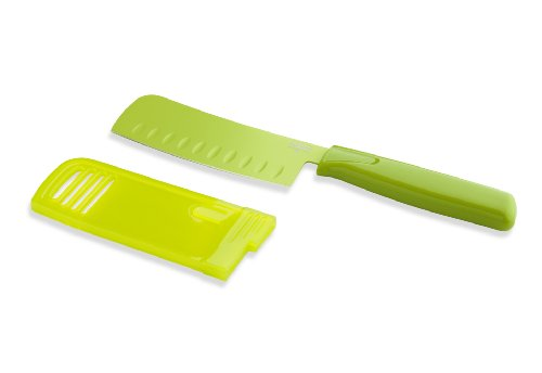Kuhn Rikon Original Nakiri 5-Inch Knife Colori, Green