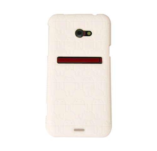 White Androidified TPU Case for the HTC EVO 4G LTE