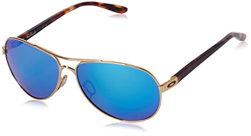 Oakley Feedback Polarized Iridium Aviator Sunglasses