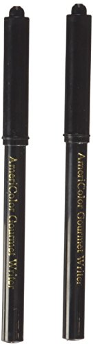 Americolor Black Food Writer 2 Marker Set