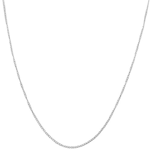 14k White Gold 0.7mm Replacement Cable Chain (18 inch)